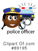 Royalty-Free (RF) Police Clipart Illustration #89195