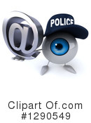 Police Eyeball Clipart #1290549 by Julos