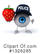 Police Eyeball Clipart #1326285 by Julos