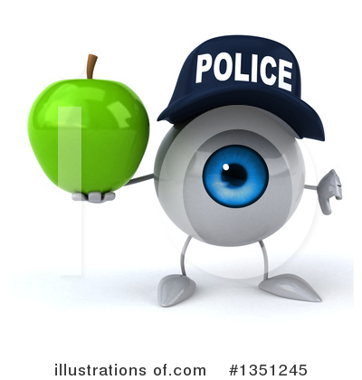 Eyeball Character Clipart #1351245 by Julos