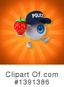 Police Eyeball Clipart #1391386 by Julos