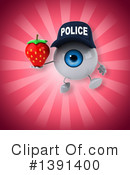 Police Eyeball Clipart #1391400 by Julos