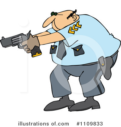 Police Clipart #1109833 by djart
