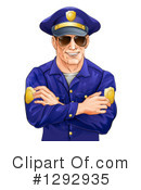 Police Man Clipart #1292935