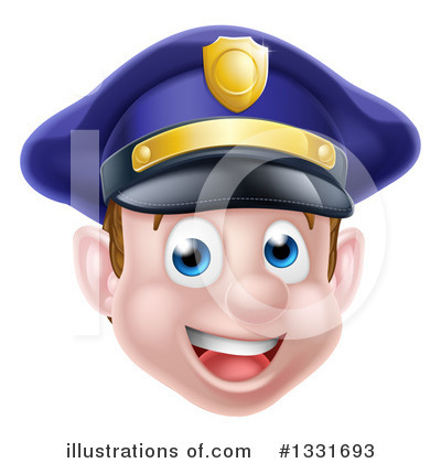 Police Officer Clipart #1331693 by AtStockIllustration