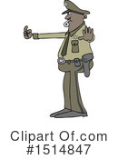 Royalty-Free (RF) Police Man Clipart Illustration #1514847