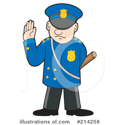 Police Clipart #214256 by visekart