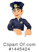 Police Officer Clipart #1445424 by Texelart