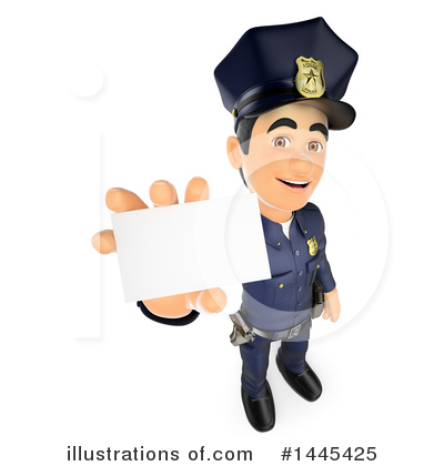 Police Officer Clipart #1445425 by Texelart