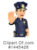 Police Officer Clipart #1445428 by Texelart