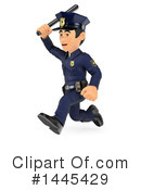 Police Officer Clipart #1445429 by Texelart