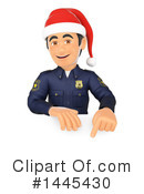 Police Officer Clipart #1445430 by Texelart