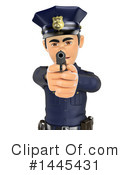 Police Officer Clipart #1445431 by Texelart