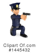 Police Officer Clipart #1445432 by Texelart
