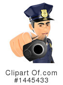 Police Officer Clipart #1445433 by Texelart