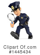 Police Officer Clipart #1445434 by Texelart