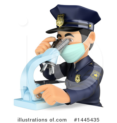 Police Officer Clipart #1445435 by Texelart