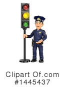 Police Officer Clipart #1445437 by Texelart