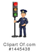 Police Officer Clipart #1445438 by Texelart