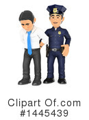 Royalty-Free (RF) Police Officer Clipart Illustration #1445439
