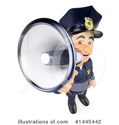 Police Officer Clipart #1445442 by Texelart