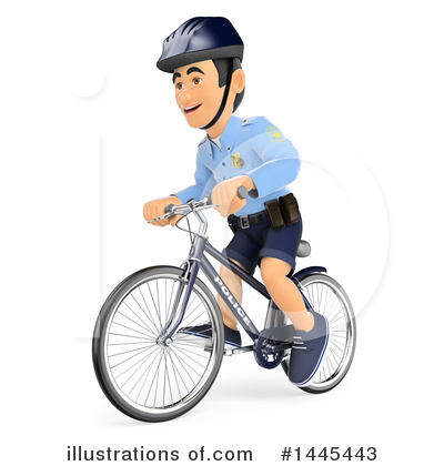 Police Officer Clipart #1445443 by Texelart