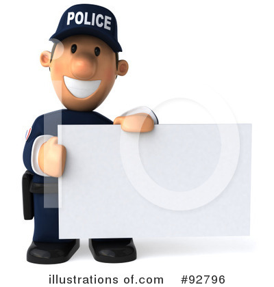Police Clipart #92796 by Julos