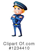 Policeman Clipart #1234410 by Graphics RF