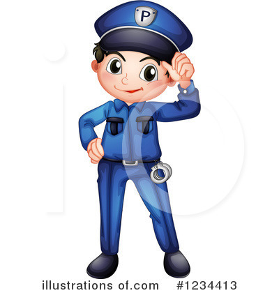 Police Clipart #1234413 by Graphics RF