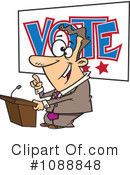 Politician Clipart #1088848 by toonaday