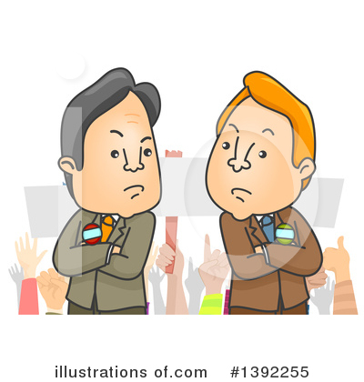Politician Clipart #1392255 by BNP Design Studio