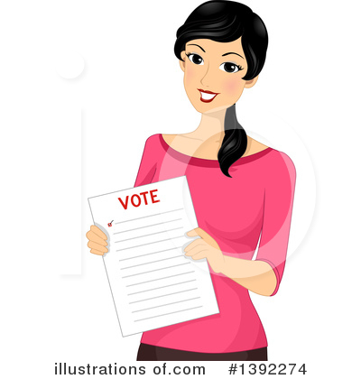Vote Clipart #1392274 by BNP Design Studio