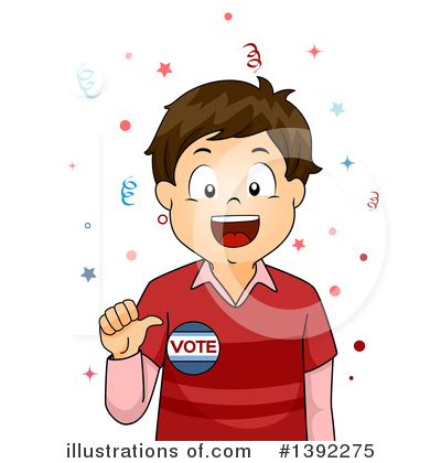 Vote Clipart #1392275 by BNP Design Studio