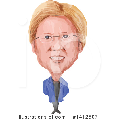 Royalty-Free (RF) Politician Clipart Illustration by patrimonio - Stock Sample #1412507