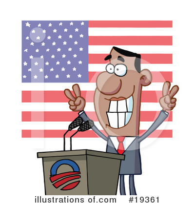 Politics Clipart #19361 by Hit Toon