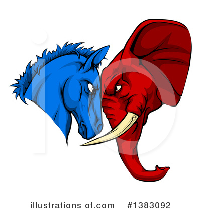 Royalty-Free (RF) Politics Clipart Illustration by AtStockIllustration - Stock Sample #1383092
