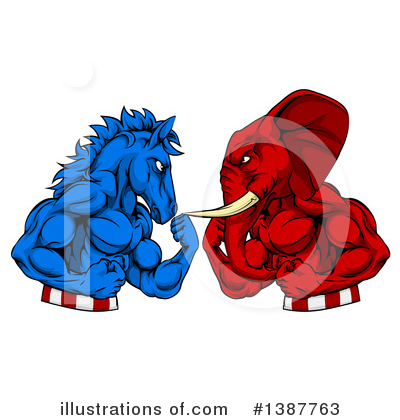 Politics Clipart #1387763 by AtStockIllustration