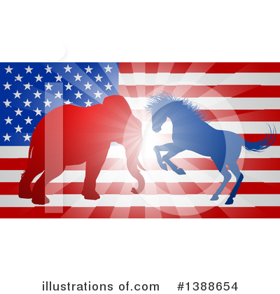 Politics Clipart #1388654 by AtStockIllustration