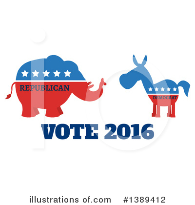 Politics Clipart #1389412 by Hit Toon