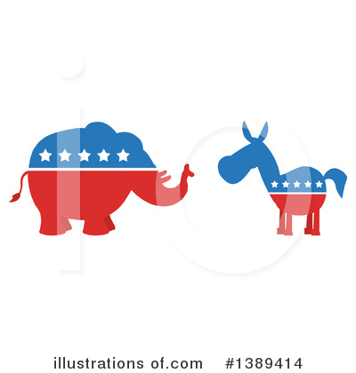 Voting Clipart #1389414 by Hit Toon