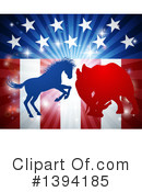 Politics Clipart #1394185 by AtStockIllustration