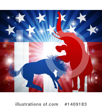 Politics Clipart #1409183 by AtStockIllustration