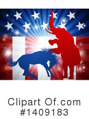 Royalty-Free (RF) Politics Clipart Illustration #1409183