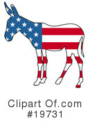 Royalty-Free (RF) Politics Clipart Illustration #19731