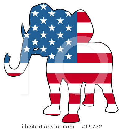 Politics Clipart #19732 by AtStockIllustration