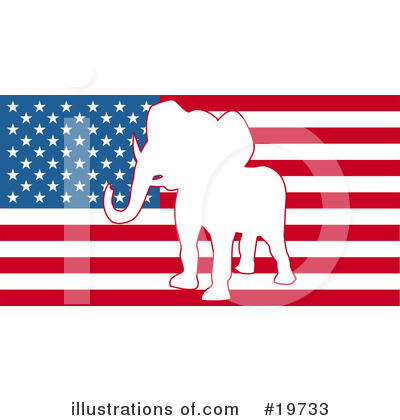Politics Clipart #19733 by AtStockIllustration