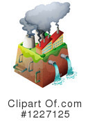 Royalty-Free (RF) Pollution Clipart Illustration #1227125