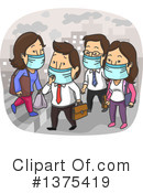 Royalty-Free (RF) Pollution Clipart Illustration #1375419