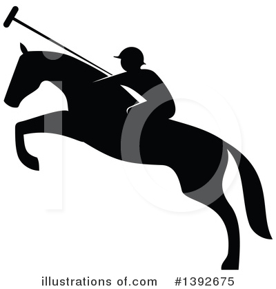 Equestrian Clipart #1392675 by Vector Tradition SM