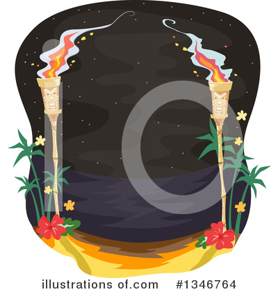 Tiki Clipart #1346764 by BNP Design Studio